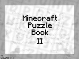 Minecraft Puzzle Book II Minecraft Project