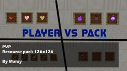 Player vs Pack | 128x128 | PVP Minecraft