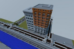 Couple US styled buildings Minecraft Map & Project
