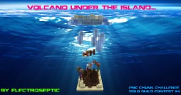 Volcano Under The Island -Chunk Challenge- Minecraft Map & Project
