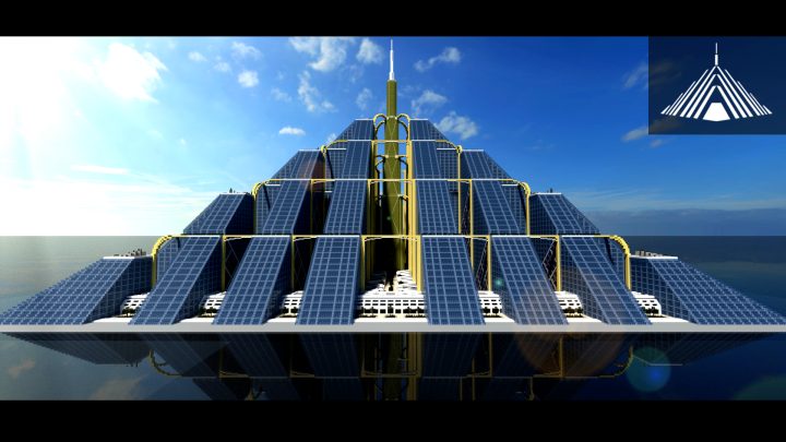 Best arcology minecraft maps projects planet minecraft the ziggurat minecraft map project voltagebd Images