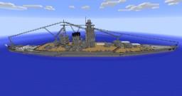 IJN Battleship Yamato Design A-140A