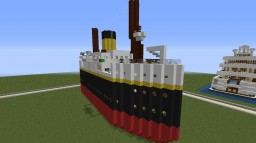SS Laurentic II - As Suggested by Kiril_Miner Minecraft Map & Project