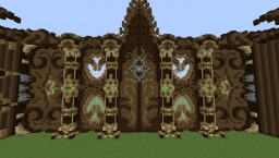 Some builds Minecraft Project