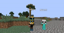 Mini players in a few simple commands! Minecraft Map & Project