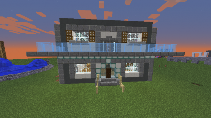 Modern House Exterior Design Thesilentwind Minecraft Project