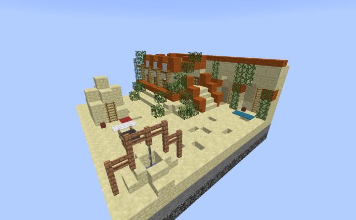 𝔄𝔯𝔠𝔥𝔞𝔢𝔞 Egyptian House Minecraft Map