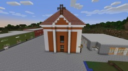 Church of the Holy Cross in Buštěhrad Minecraft Project