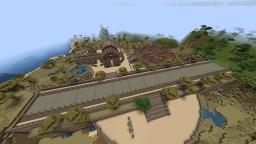 Desert/sand-based small citadel Minecraft Map & Project