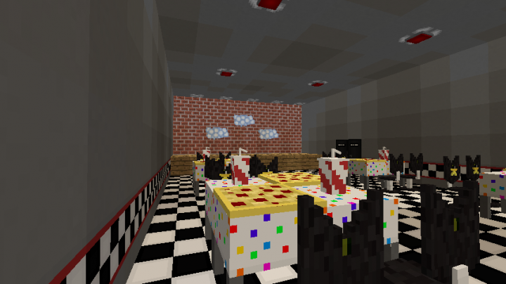 Fred Bears Family Diner Texture Pack