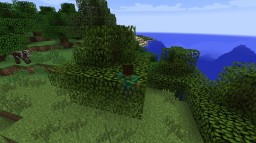 The Realistic Leaves Mod Minecraft Mod