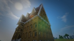 Rustic Medieval Manor - Server Spawn (WIP) Minecraft Project
