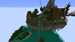 Floating Island - Steampunk Inspiration Minecraft Map & Project