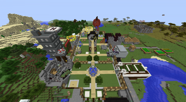 Newest Minecraft Lobby
