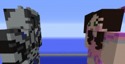 PopularMMOs Lucky Block Race Extreme Minecraft Map & Project