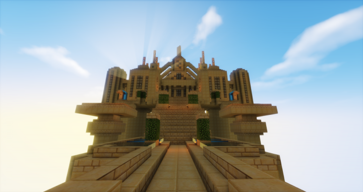 Front view of Anor Londo