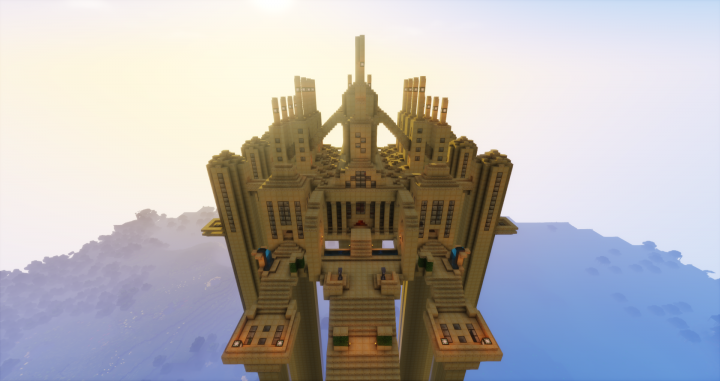 Higher Front view of Anor Londo