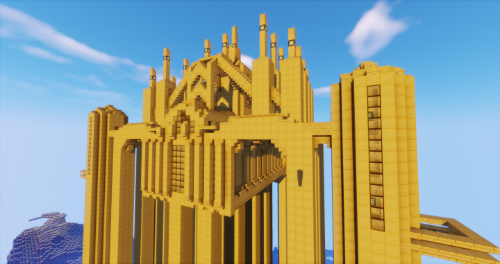 Back view of Anor Londo