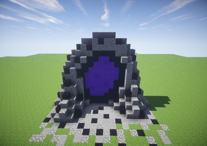 Nether Portal Build Minecraft