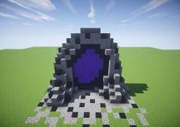 The Rock Portal [Custom Nether Portal] Minecraft Map & Project