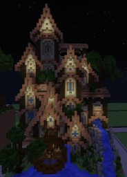 Peaked Folk House Minecraft Map & Project