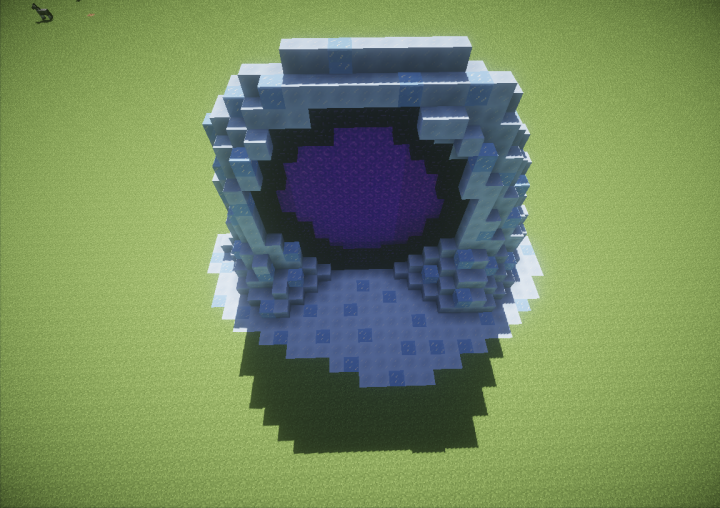 Ice Portal [Nether Portal] Minecraft Project