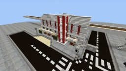 Bus and Train Terminal Minecraft Project