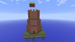 Castle Of Gediminas Lithuania(Chunk Challange)