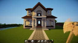 Traditional House 1 - My first ever traditional house! Minecraft
