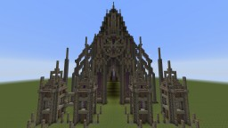 Gothic building (Dimensions: x55,y62,z73) Minecraft Map & Project