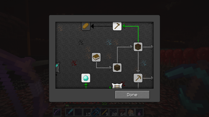 Rsdg's PvP See-Through GUI Pack Minecraft Texture Pack