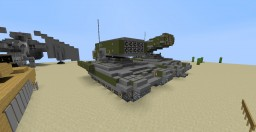 TOS-1 'Buratino' Minecraft Map & Project