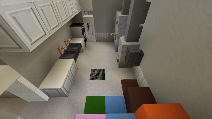 Mansion Interior 2 Esterlon Minecraft Project