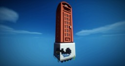 British telephone booth [Chunk Challenge: Solo build contest #4] Minecraft Map & Project
