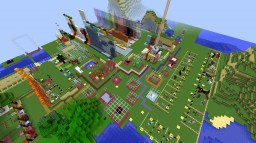 Texture Testing World & Zoo - browse all blocks & mobs easily Minecraft Map & Project