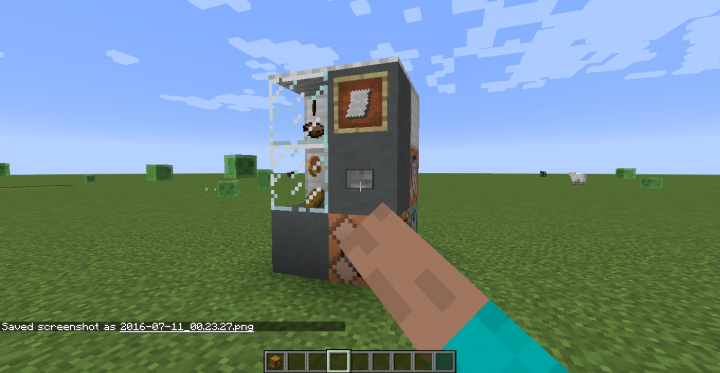 vending machine in minecraft