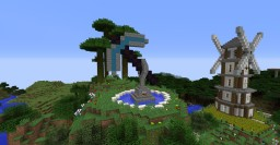 Minecraft Pickaxe Statue Minecraft Map & Project