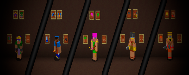 New Armor! Look like your favorite Clash of ClansRoyale Mobs!