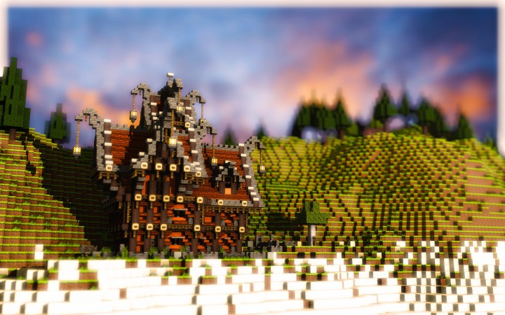 Medieval Steampunk House By Mrbatou Minecraft Project