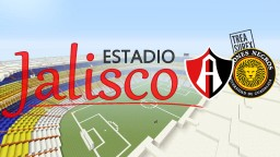 Estadio Jalisco (Atlas FC & Leones Negros de la U. de G.) Minecraft Project