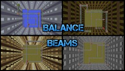 Minecraft Map: Balance Beams! Minecraft Project