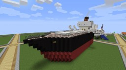 S.S. Blantiquia - Fictional Cargo Steamer Minecraft Map & Project