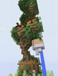 Darkwood Fairy Tree house [Chunk Contest] Minecraft Map & Project