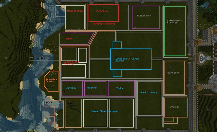 How To Plan A City In 10 Minutes on Medieval Castle Floor Plan Blueprints