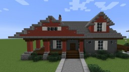 Craftsman House Minecraft Map & Project