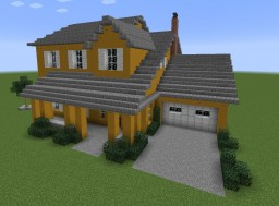 Another Modern House Minecraft Map & Project