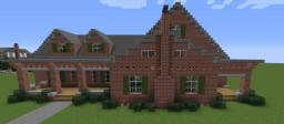 Brick Mansion Minecraft Map & Project