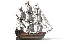 Pirate Galleon (Remastered - V2.0) Minecraft