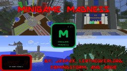 Minigame Madness Version 2.1 OLD PAGE GO TO LINK IN DESCRIPTION FOR CURRENT MAP!!! Minecraft