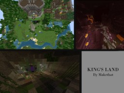 KING'S LAND Minecraft Map & Project